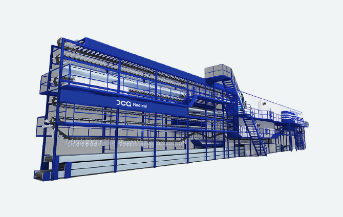 DCG Automatic Glove Machine Production Line